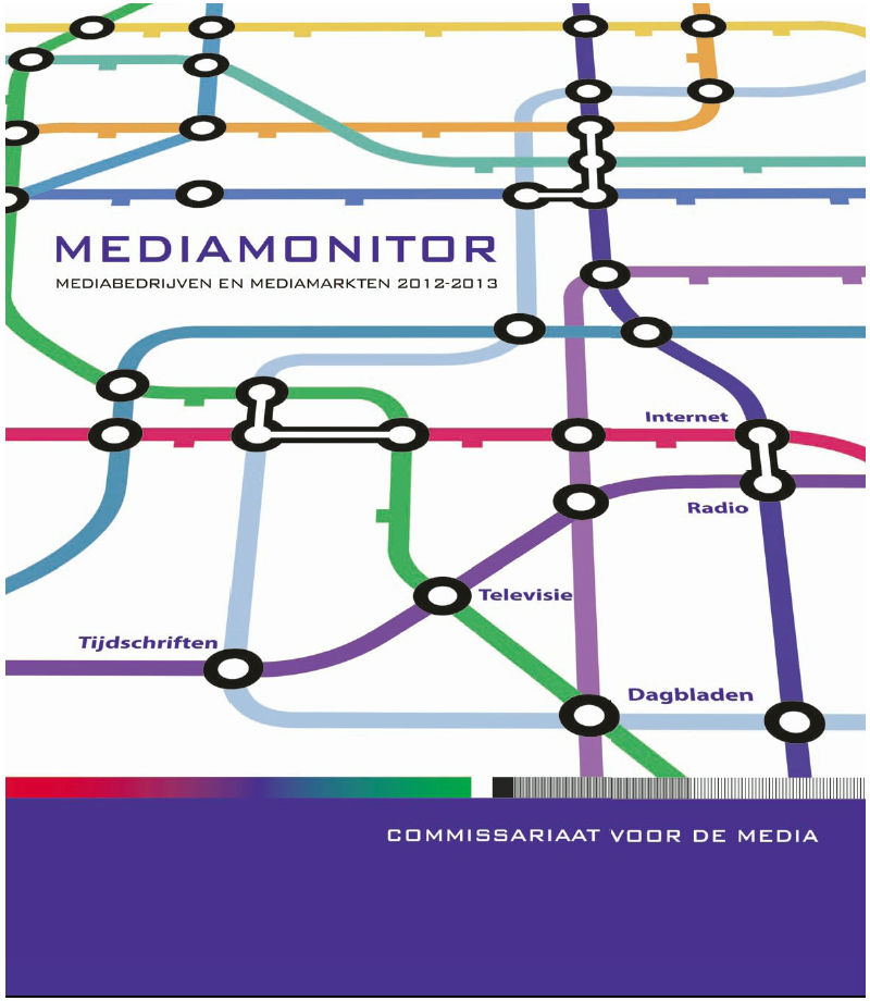 Cover Mediamonitor 2013